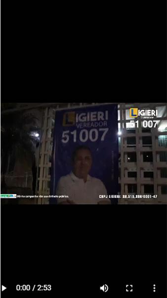 Lançamento da Campanha Ligieri Vereador 51007